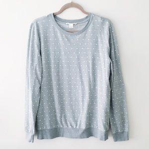 sage pullover